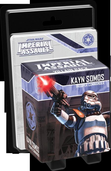 Painted Mini's: Kayn Somos, Trooper Commander