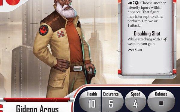 Painted Mini's: Gideon Argus, Valiant Commander