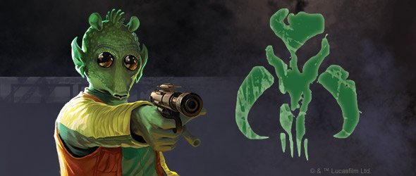 Painted Mini's: Greedo: Amibitious Mercenary