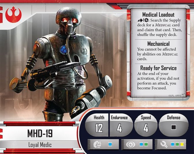 Painted Mini's: MHD-19, Medical Droid