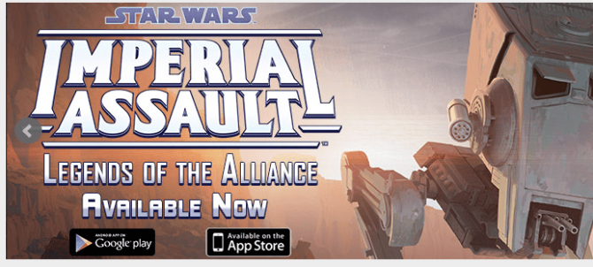 It's Happening! Imperial Assault App